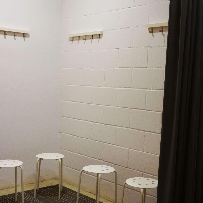 Vestuario / Changing room